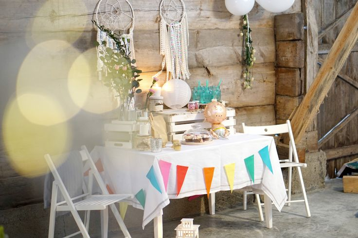 BabyShower Table or Welcome Home Table / Foto by @lenakolodziejak