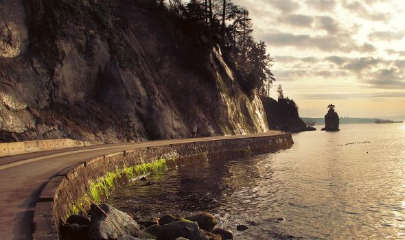 Stanley Park SeaWall Path  Vancouver, BC