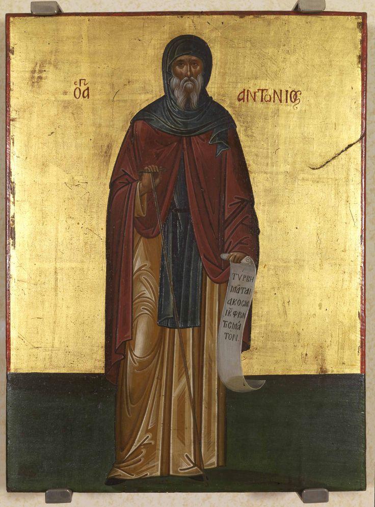 Св. Антоний Великий; XVI