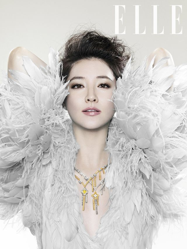 Lee Young Ae Elle Korea Magazine November 2012