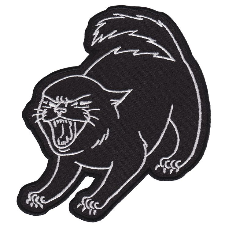 CAT COVEN SASSY KITTEN PATCH $5.00 #catcoven #patch #accessories #cat #blackcat #spooky