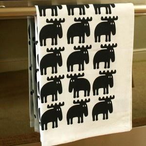 Färg Form Black Elk Tea Towel