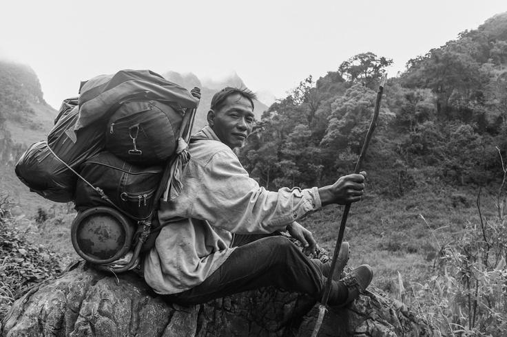 Environment portrait. Chiang-dao