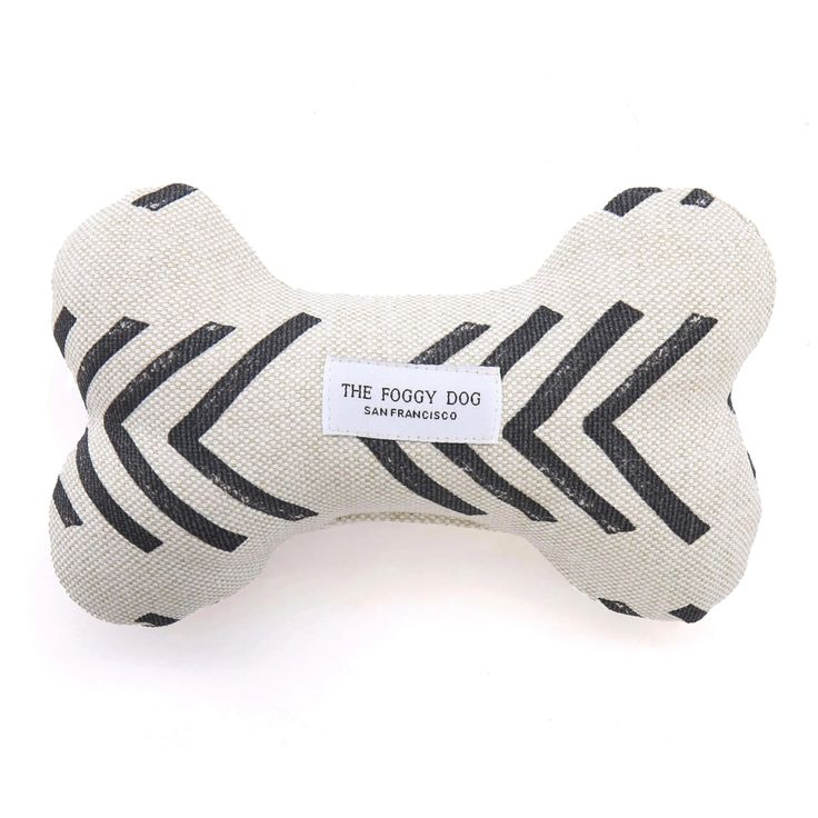 Modern Mud Cloth Natural Dog Squeaky Toy – The Foggy Dog Dog Bones, Recycle Plastic Bottles, New Puppy, Fur Babies, Your Dog, Puppies, Toys, Eco Friendly, Upholstery