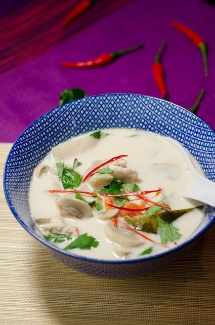 Soupe Tom Kha Kai