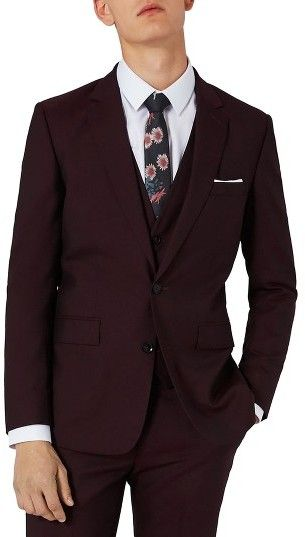 Charlie Casely-Hayford SUIT -  X Topman Skinny Fit Suit Jacket