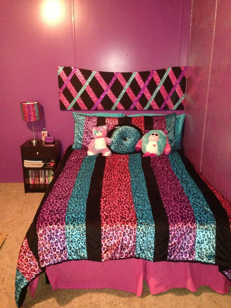 44 Best Images About Girly Bedrooms On Pinterest Zebra