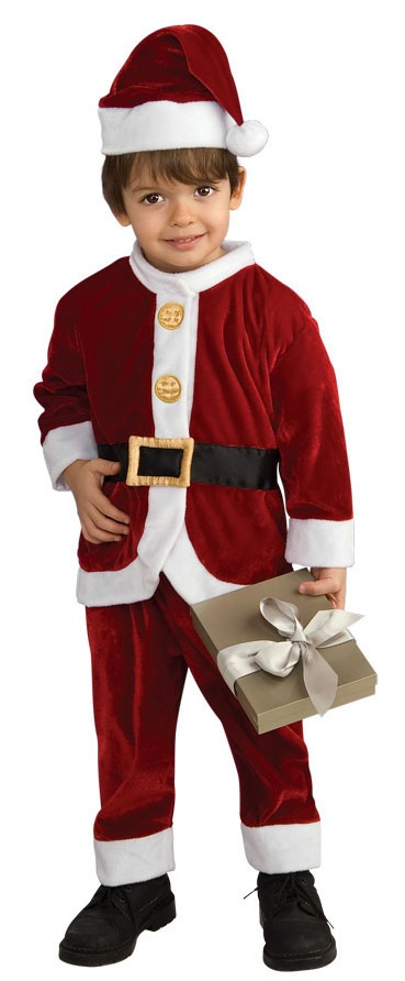 Santa Claus Costume for Toddler Children HalloweenCostumes4u.com $19.00