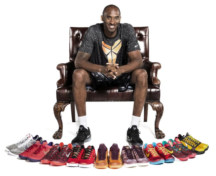 Kobe Bryant Shows Off His History of 'China' Nike Sneakers