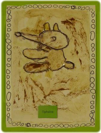 Activité en arts visuels pour découvrir l'art des Aborigènes d'Australie en maternelle, art aborigène Australie à l'école maternelle, art aborigène australie maternelle
