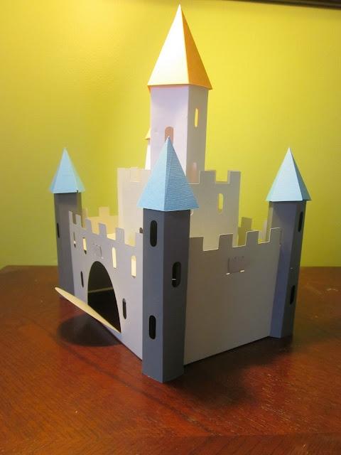 Once Upon A Princess Cricut 3d Castle Tutorial Hints