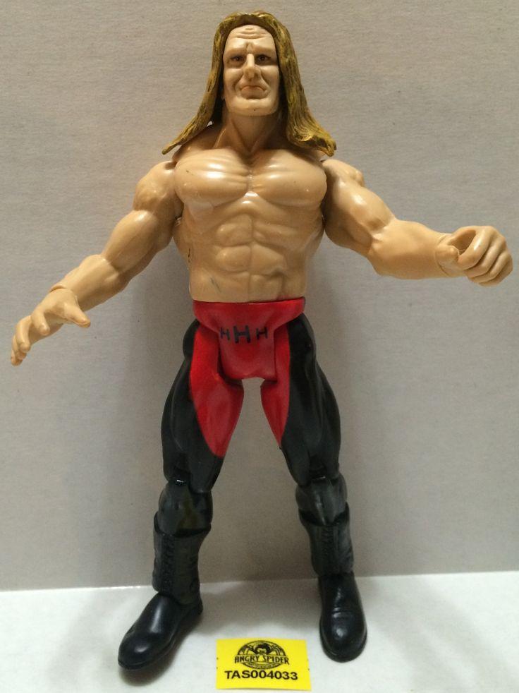 (TAS004033) - WWF WWE WCW Jakks LJN Wrestling Figure - Triple H (HHH)