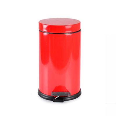 - 16 Lt Renkli Çöp Kovası - Kırmızı