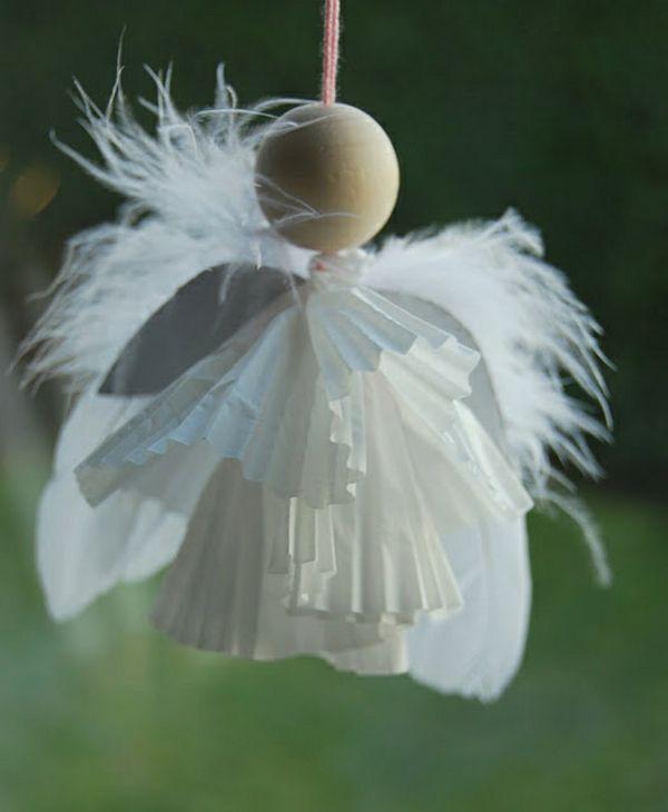 Idées de décoration de Noël- fabriquez des anges adorables