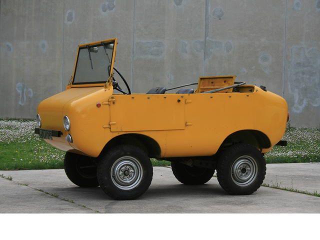 1968 Ferves Ranger 4x4, 18hp Fiat 500 motor