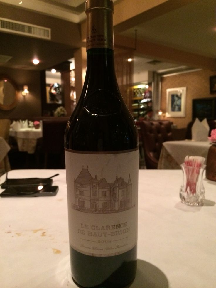 Second wine of Haut brion