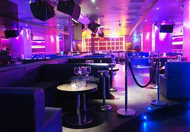 Movida Clubs, London...The club has welcomes A-List celebs to mingle from Olympic champions to fashion designers.  Top celebs that party at Movida are Black Eyed Peas, Beyonce, Prince, Bruno Mars, Amber Rose, Victoria Beckman and more.  Seats 400 and is rocking!~