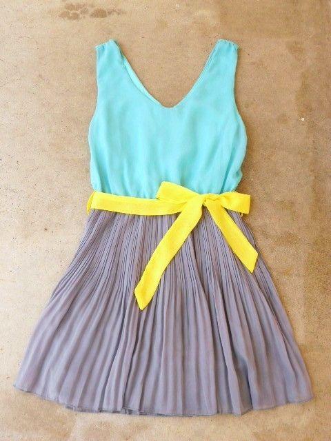 : Summer Dresses, Dreams Closet, Color Combos, Than, Colorblock Dresses, Clearwater Colorblock, Vintage Inspiration, Vintage Inspired, Inspiration Clothing