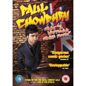 Paul Chowdhry - What's Happening White People! DVD: Amazon.co.uk: Film & TV