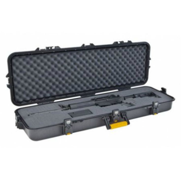 "42"" Rifle Hard Case All Weather Firearms Guard Lock Protect Shooting Gun Storage #PlanoMolding"