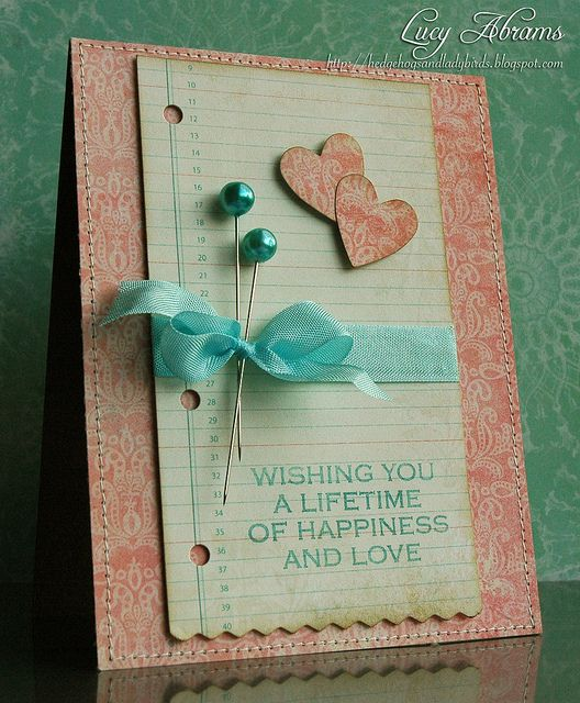 Great colors and love the simplicity (Lucy's Cards)
