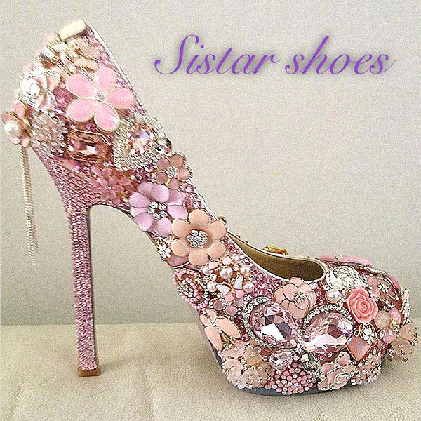 Sistar Shoes and Their Unapologetically Glamorous Sparkly Jeweled Shoes...seriously jeweled shoes!