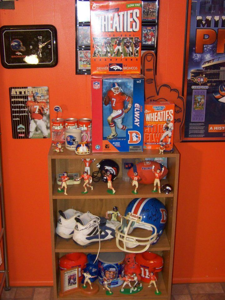 21 Best Images About Denver Broncos Man Caves On Pinterest