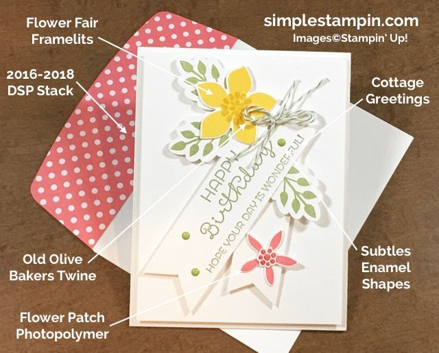 stampin-up-happy-birthday-card-flower-patch-photopolymer-cottage-greetings-stamp-subtles-enamel-shapes-