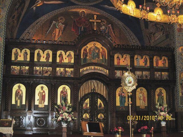 Ikonostas at St. Nicholas Ukrainian Catholic Church, Toronto, Canada