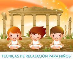 TÉCNICAS de relajación para niños incluye video con música relajante.