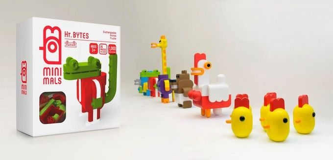 Minimals, Collectible Animal Puzzle by Extravia — Kickstarter