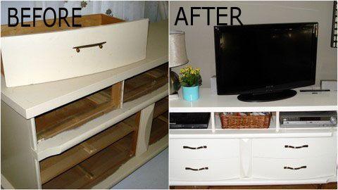 Tv Stands: Small Dresser