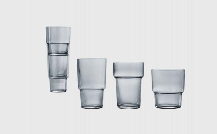 Same Same But Different - set of 3 glasses http://livingedge.com.au