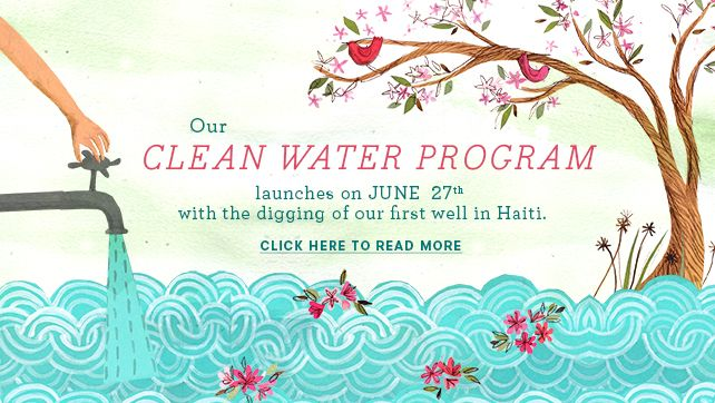 hand in hand launches its #cleanwater program!