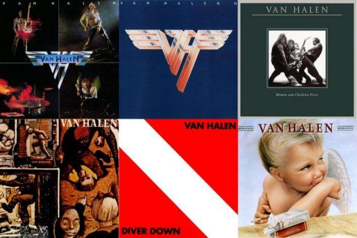 Van Halen- Diver Down 35th Anniversary- Eddie & Alex Van Halen, Michael Anthony