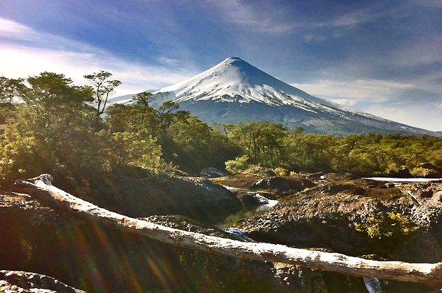 Volcán Osorno y Saltos de Petrohué » Hostal Casa Azul, Puerto Varas - Chile