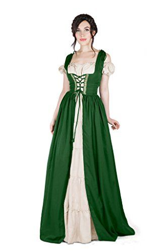 Renaissance Medieval Irish Costume Over Dress & Boho Chem... https://smile.amazon.com/dp/B01ICYW2M4/ref=cm_sw_r_pi_dp_x_KMGXxbFQJA897