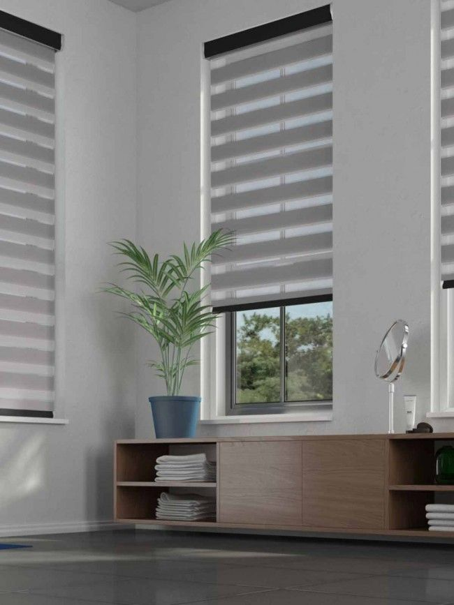 Duo Roller Serenity Pewter Blind