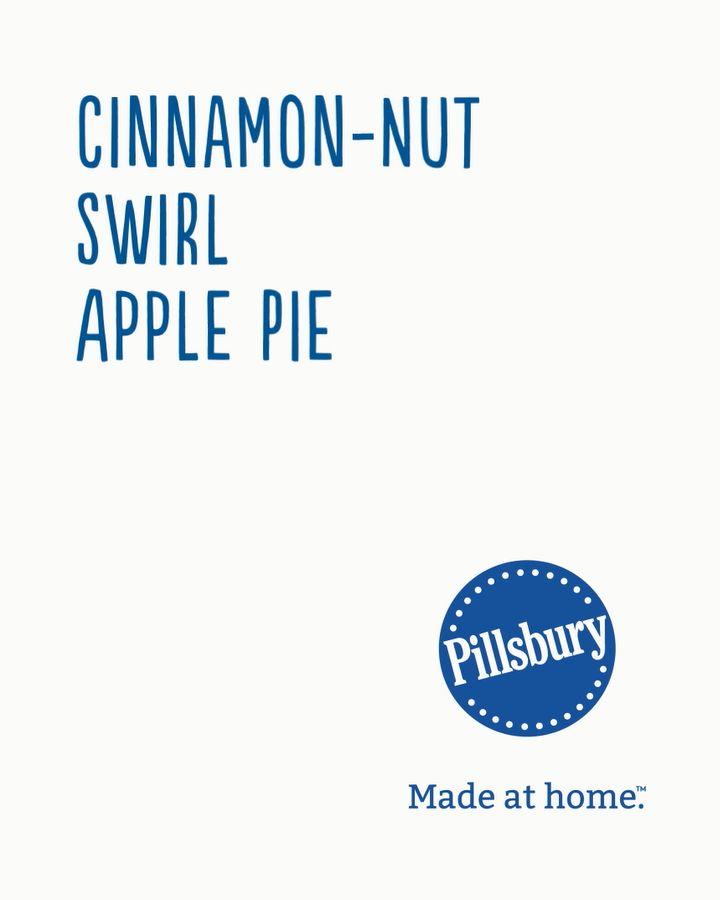 No lattice? No problem. The swirls of cinnamon, sugar and pecans make this a fun and festive alternative to a classic apple pie.