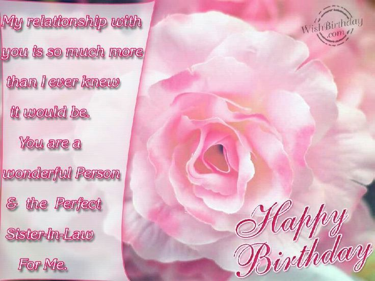 54 best happy birthday images on pinterest birthday wishes happy happy birthday sister in law greeting cards m4hsunfo