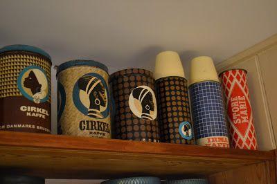 Mine kaffedåser :: My coffee cans