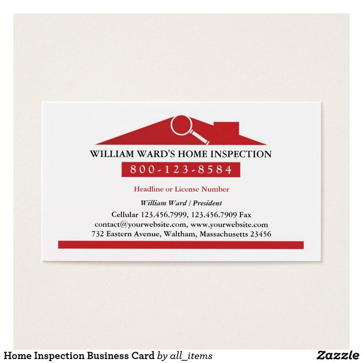 22 best home inspection business cards images on pinterest home inspection business card stopboris Gallery