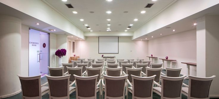 Conference room at Civitel Olympic for small groups, company meetings and business presentations.