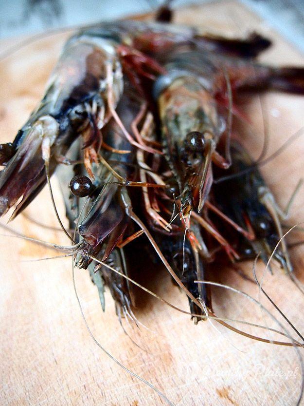 Black Tiger shrimps / gambas
