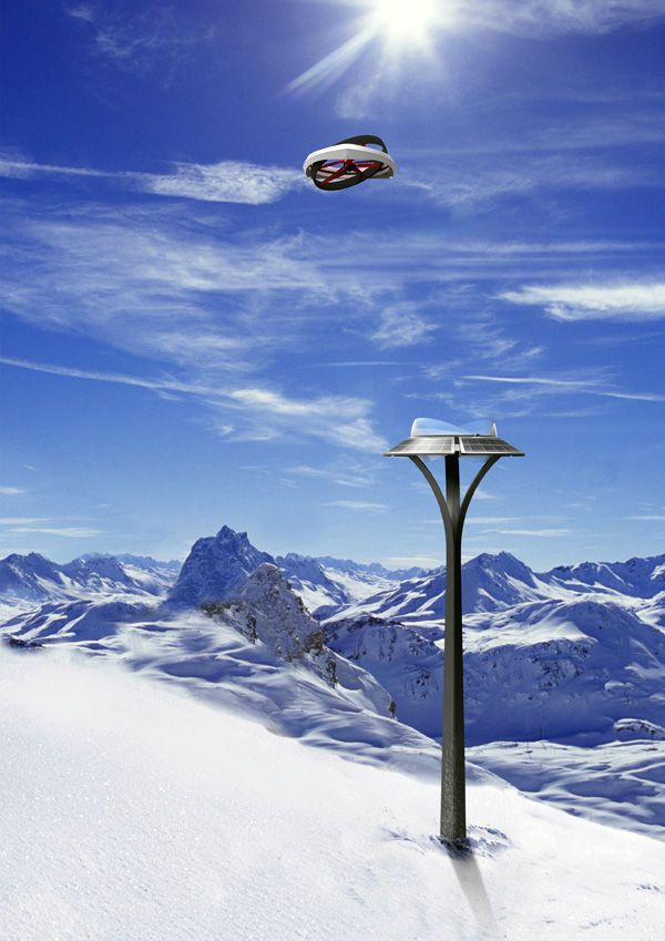 Life-Saving Air Drones - This Air Drone Helps Identify Victims in an Avalanche [The Future of Drones: http://futuristicnews.com/tag/drone/]