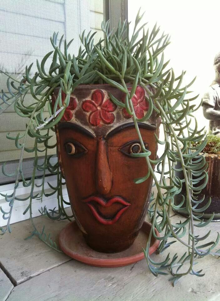 1130 Best Yard Art Images On Pinterest Clay Pot Crafts