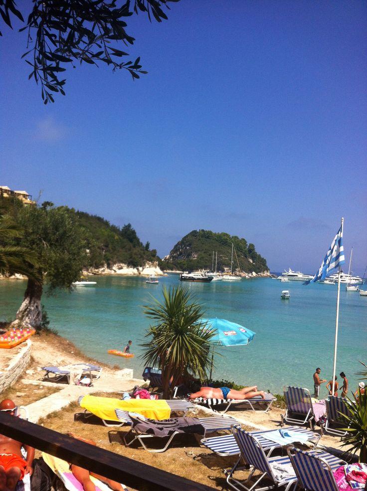 Harami Beach, Lakka, #Paxos, Villa Alexander