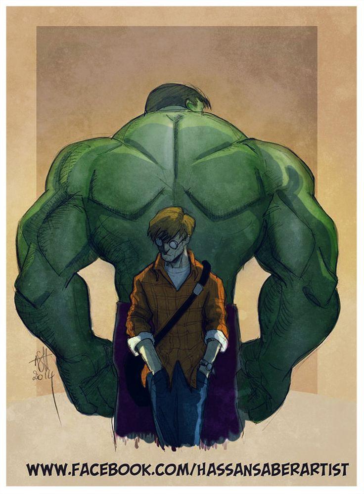 #Hulk #Fan #Art. (Hulk) By:Scarecrowhassan. ÅWESOMENESS!!!™ ÅÅÅ+