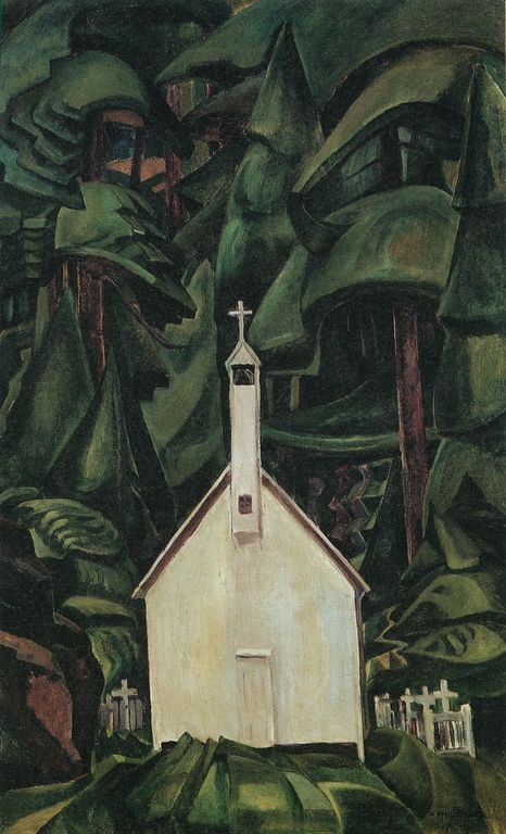 Indian Church - Emily Carr, 1929