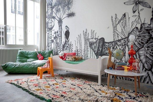 Minakani Lab Wall Murals - Kids Bedroom Ideas (houseandgarden.co.uk)